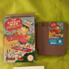 Videojuegos y Consolas: JUEGO NINTENDO NES - LOS SIMPSONS BART Y LOS MUTANTES. CON CAJA. Lote 58362293