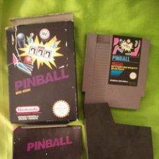 Videojuegos y Consolas: JUEGO NINTENDO NES - PIN BALL - COMPLETO. CON CAJA. Lote 54836282