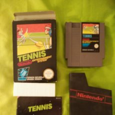 Videojuegos y Consolas: JUEGO NINTENDO NES - TENNIS - COMPLETO. CON CAJA. Lote 54836297
