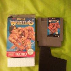 Videojuegos y Consolas: JUEGO NINTENDO NES - WORLD WRESTLING - CON CAJA. Lote 54836328