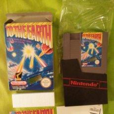 Videojuegos y Consolas: JUEGO NINTENDO NES - TO THE EARTH - COMPLETO. CON CAJA. Lote 54836347