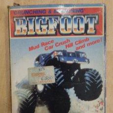 Videojuegos y Consolas: JUEGO CRUNCHING MUNCHING BIGFOOT CONSOLA VIDEOJUEGO NINTENDO NES, CON CAJA Y MANUAL, SIN FUNDA. Lote 76492335