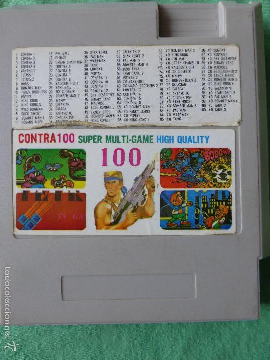 Juego Nintendo Nes Clonico 100 Juegos En 1 Comprar Videojuegos