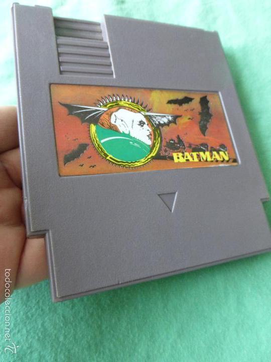 Videojuegos y Consolas: JUEGO NINTENDO NES BATMAN - Foto 2 - 55375133
