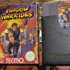 Videojuegos y Consolas: SHADOW WARRIORS NINTENDO NES PAL B FRG ESPAÑA CAJA Y CARTUCHO. Lote 55512191