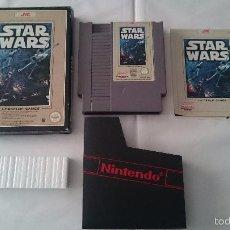 Videojuegos y Consolas: JUEGO COMPLETO STAR WARS NINTENDO NES PAL VERSIÓN FRA. MUY BUEN ESTADO.. Lote 55918113