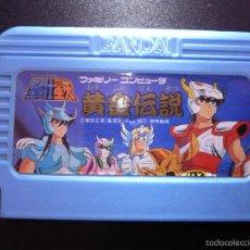 Videojuegos y Consolas: SAINT SEIYA DE BANDAI PARA FAMICOM NES 1987. Lote 56285275