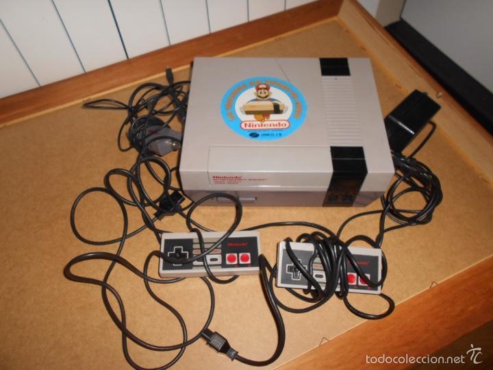 CONSOLA NINTENDO NES PAL 8 BIT ORIGINAL CON TODOS SUS CABLES Y 2 MANDOS (Juguetes - Videojuegos y Consolas - Nintendo - Nes)