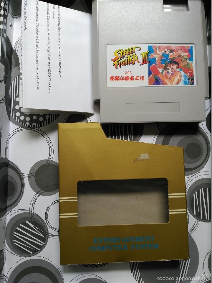 JUEGO CLONE NES NINTENDO STREET FIGHTER III NUEVO EN CAJA A ESTRENAR INSTRUCCIONES NASA (Juguetes - Videojuegos y Consolas - Nintendo - Nes)