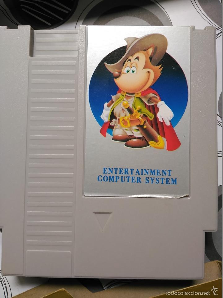Videojuegos y Consolas: JUEGO CLONE NES NINTENDO STREET FIGHTER III NUEVO EN CAJA A ESTRENAR INSTRUCCIONES NASA - Foto 5 - 57124918