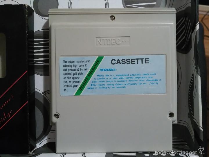 Videojuegos y Consolas: STREET FIGHTER II NEW A ESTRENAR CON CAJA NES NINTENDO COMPATIBLE CLONE NASA - Foto 3 - 57125095