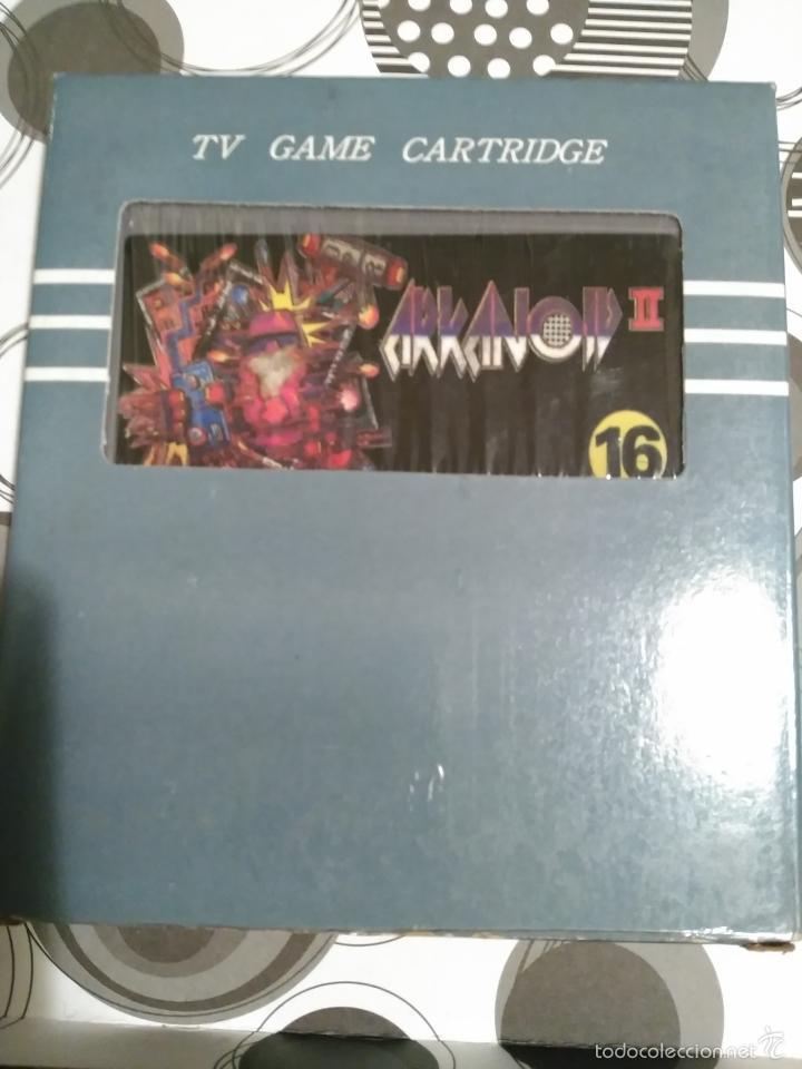 ARKANOID II- IN BOX ..NEW A ESTRENAR .FOR NES CLONE. CLON NES. NASA (Juguetes - Videojuegos y Consolas - Nintendo - Nes)