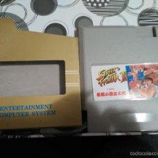 Videojuegos y Consolas: JUEGO CLONE NES NINTENDO STREET FIGHTER III NUEVO EN CAJA A ESTRENAR NASA 1993. Lote 57125337