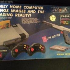 Videojuegos y Consolas: NASA NS-90A NUEVA A ESTRENAR CONSOLA CLON NES NINTENDO FAMICOM. Lote 57125539