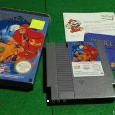 Videojuegos y Consolas: JUEGO PRINCE OF PERSIA NINTENDO NES COMPLETO . ORIGINAL.. Lote 57335446