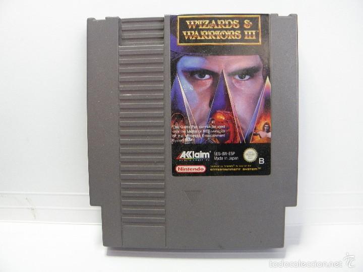 WIZARDS WARRIORS III - NINTENDO NES - PAL ESPAÑA (Juguetes - Videojuegos y Consolas - Nintendo - Nes)