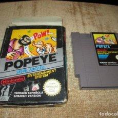 Videojuegos y Consolas: NINTENDO NES ~ POPEYE ~ PAL / ESPAÑA. Lote 64317507