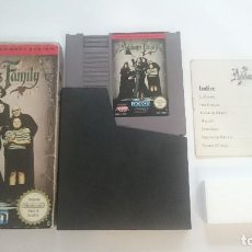 Videojuegos y Consolas - LA FAMILIA ADDAMS THE FAMILY COMPLETO NINTENDO ORIGINAL NES PAL B ESPAÑA - 64711703