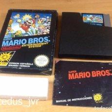 Videojuegos y Consolas: SUPER MARIO BROS 1 JUEGO PARA NINTENDO NES VERSIÓN PAL ESP ESPAÑA COMPLETO EN BUEN ESTADO. Lote 65906090