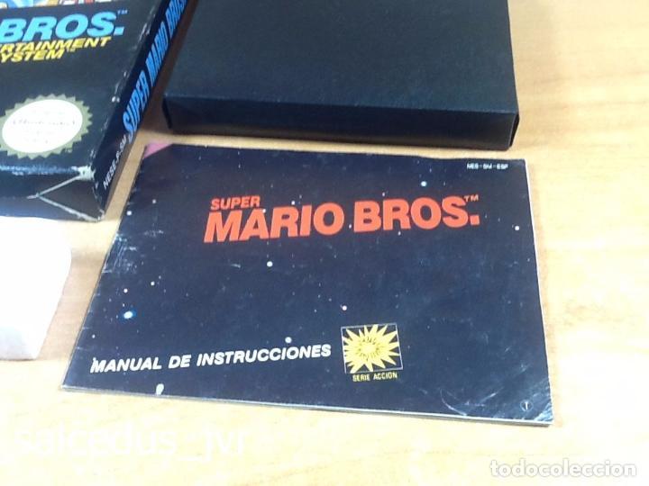 Videojuegos y Consolas: Super Mario Bros 1 juego para Nintendo NES Versión PAL ESP España Completo en Buen Estado - Foto 3 - 65906090