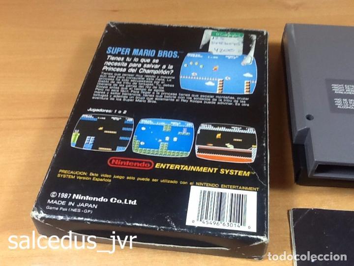 Videojuegos y Consolas: Super Mario Bros 1 juego para Nintendo NES Versión PAL ESP España Completo en Buen Estado - Foto 5 - 65906090