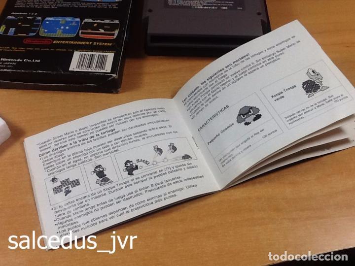 Videojuegos y Consolas: Super Mario Bros 1 juego para Nintendo NES Versión PAL ESP España Completo en Buen Estado - Foto 7 - 65906090