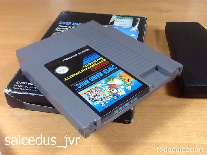 Videojuegos y Consolas: Super Mario Bros 1 juego para Nintendo NES Versión PAL ESP España Completo en Buen Estado - Foto 9 - 65906090
