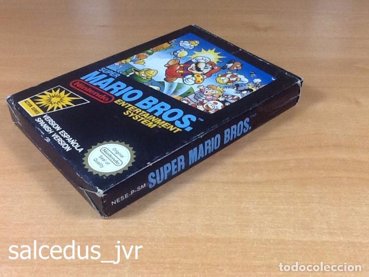 Videojuegos y Consolas: Super Mario Bros 1 juego para Nintendo NES Versión PAL ESP España Completo en Buen Estado - Foto 10 - 65906090