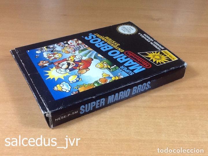 Videojuegos y Consolas: Super Mario Bros 1 juego para Nintendo NES Versión PAL ESP España Completo en Buen Estado - Foto 11 - 65906090