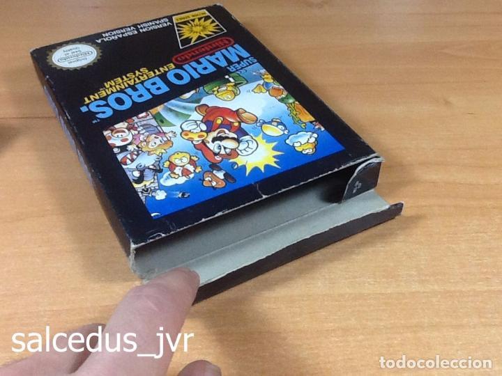 Videojuegos y Consolas: Super Mario Bros 1 juego para Nintendo NES Versión PAL ESP España Completo en Buen Estado - Foto 13 - 65906090