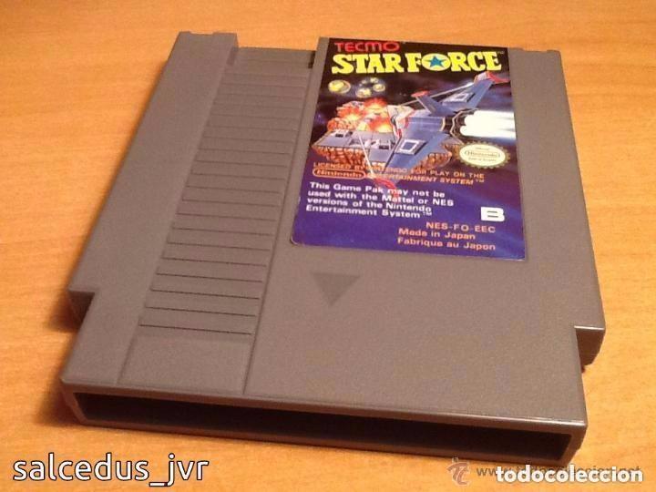 STAR FORCE TECMO NINTENDO NES PAL CARTUCHO EN BUEN ESTADO STARFORCE (Juguetes - Videojuegos y Consolas - Nintendo - Nes)