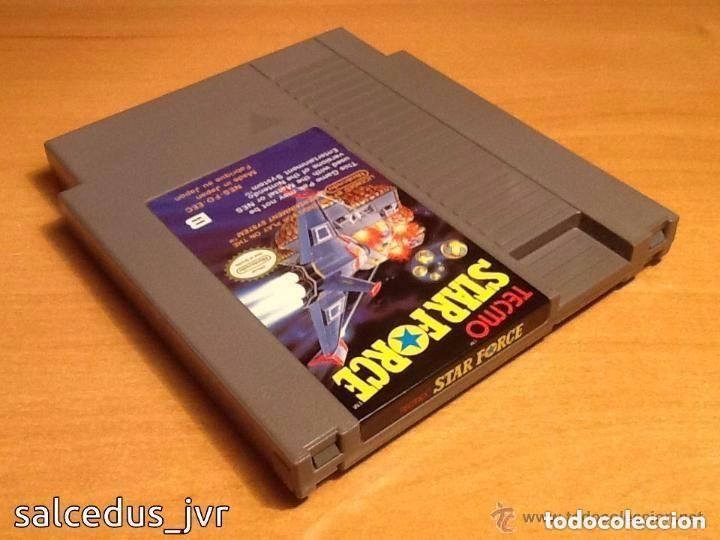 Videojuegos y Consolas: Star Force Tecmo Nintendo NES PAL Cartucho en Buen Estado StarForce - Foto 2 - 66972102