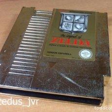 Videojuegos y Consolas: THE LEGEND OF ZELDA 1 JUEGO PARA NINTENDO NES PAL ESP ESPAÑA SOLO CARTUCHO. Lote 67402401