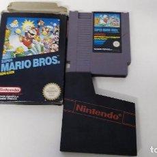 Videojuegos y Consolas: JUEGO PARA LA NIN TENDO NES MARIO BROS EN CAJA . Lote 67475609