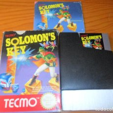 Videojuegos y Consolas: SOLOMON'S KEY - JUEGO COMPLETO - NINTENDO NES PAL, VERSIÓN ESPAÑOLA. Lote 67517381