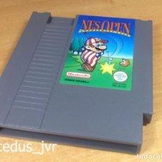 Videojuegos y Consolas: NES OPEN TOURNAMENT GOLF JUEGO PARA NINTENDO NES PAL ESP CARTUCHO EN EXCELENTE ESTADO. Lote 68650689