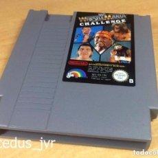 Videojuegos y Consolas: WRESTLEMANIA CHALLENGE JUEGO PARA NINTENDO NES PAL FRA CARTUCHO EN BUEN ESTADO. Lote 68840025