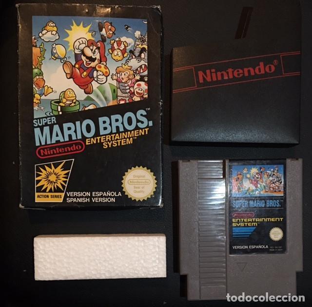JUEGO DE NINTENDO NES SUPER MARIO BROS (Juguetes - Videojuegos y Consolas - Nintendo - Nes)