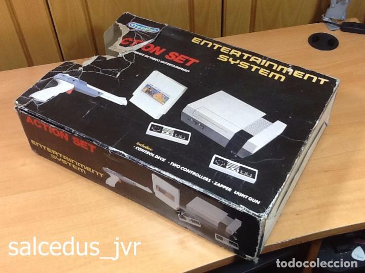 CAJA Y CORCHOS DE LA CONSOLA CREATION ACTION SET CLÓNICA DE NINTENDO NES NASA BRINGTOM (Juguetes - Videojuegos y Consolas - Nintendo - Nes)