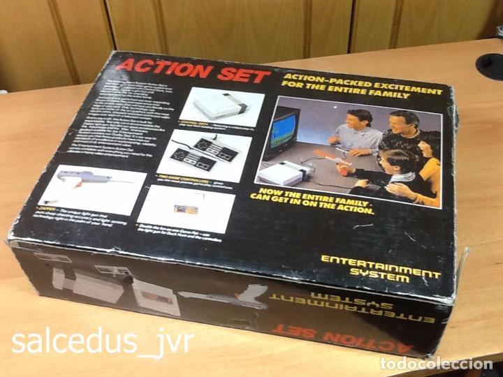 Videojuegos y Consolas: Caja y Corchos de la Consola Creation Action Set Clónica de Nintendo NES NASA Bringtom - Foto 2 - 139769468