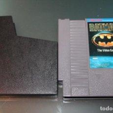 Videojuegos y Consolas: BATMAN THE VIDEO GAME PARA NINTENDO NES. Lote 71222621