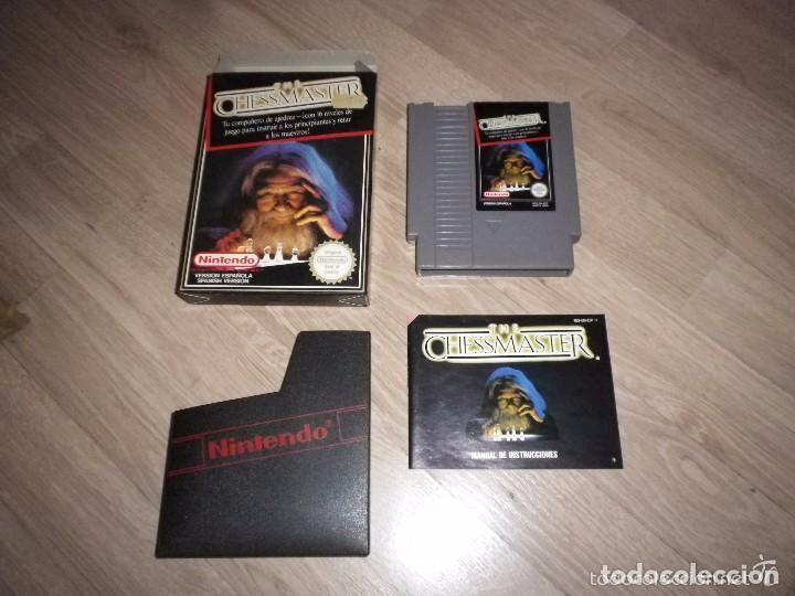 NINTENDO NES JUEGO THE CHESSMASTER VERSIÓN ESPAÑOLA (Juguetes - Videojuegos y Consolas - Nintendo - Nes)