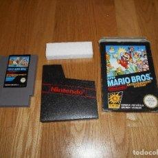 Videojuegos y Consolas: SUPER MARIO BROS JUEGO PARA NINTENDO NES PAL COMPLETO VERSIÓN ESPAÑOLA. Lote 73811351