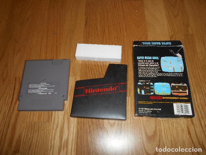 Videojuegos y Consolas: Super Mario Bros Juego para Nintendo NES PAL Completo Versión Española - Foto 2 - 73811351