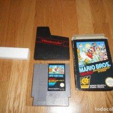 Videojuegos y Consolas: SUPER MARIO BROS JUEGO PARA NINTENDO NES PAL COMPLETO VERSIÓN ESPAÑOLA. Lote 73811715
