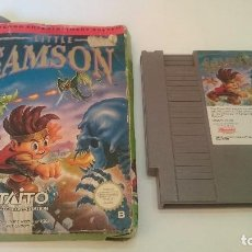 Videojuegos y Consolas: LITTLE SAMSON LITLE CON CAJA ESPAÑA PAL B NINTENDO NES 100% ORIGINAL.RARO. Lote 75204411