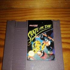 Videojuegos y Consolas: SKATE OR DIE, NINTENDO NES-DI-EEC, DIFICILISIMO.. Lote 76289531