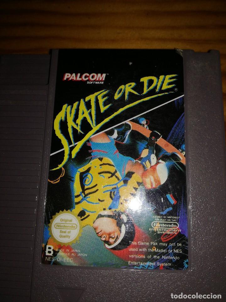 Videojuegos y Consolas: SKATE OR DIE, NINTENDO NES-DI-EEC, DIFICILISIMO. - Foto 3 - 76289531