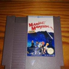 Videojuegos y Consolas: MANIAC MANSION, NES PAL ESP.. Lote 76291411