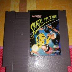 Videojuegos y Consolas: SKATE OR DIE, NINTENDO NES-DI-FRG, DIFICILISIMO.. Lote 76392095